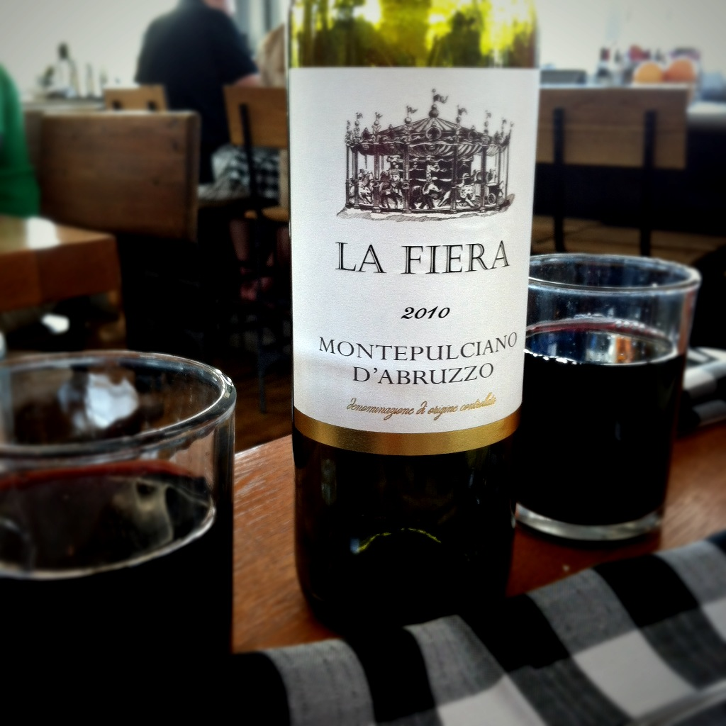 La Fiera Montepulciano D'Abruzzo 2010 | cheap wine snobs