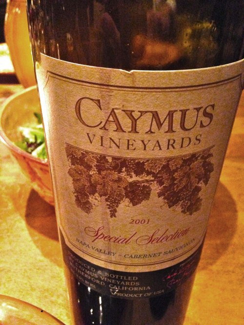 Caymus 2001