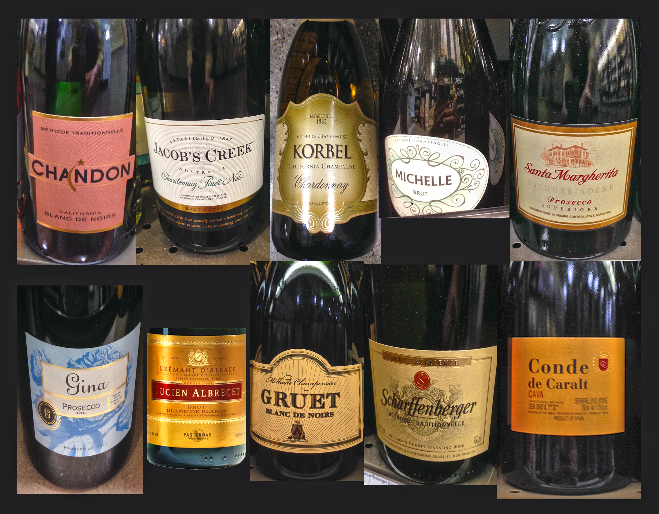 10 best value champagne sparkling wines for new years for Good but cheap wine