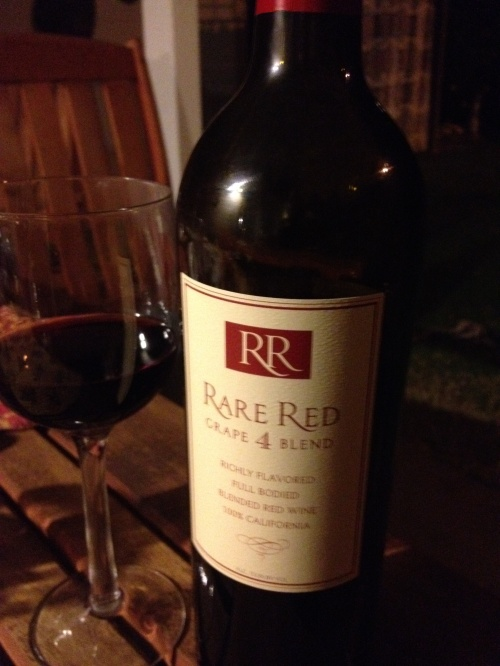 rare red